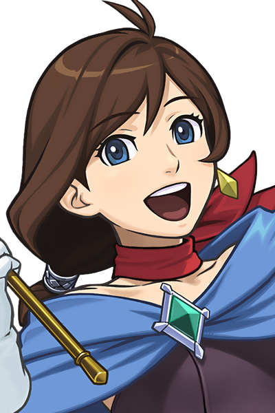 vector stock Trucy wright ace attorney. Break clipart female lawyer.