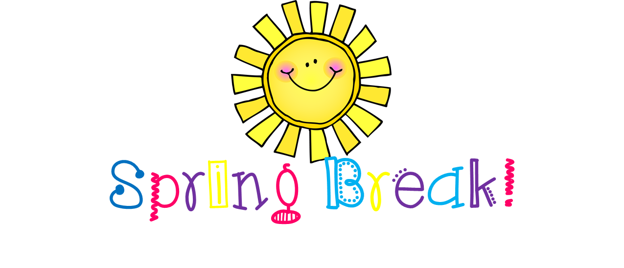 black and white library Recess clipart. Spring break cilpart well.