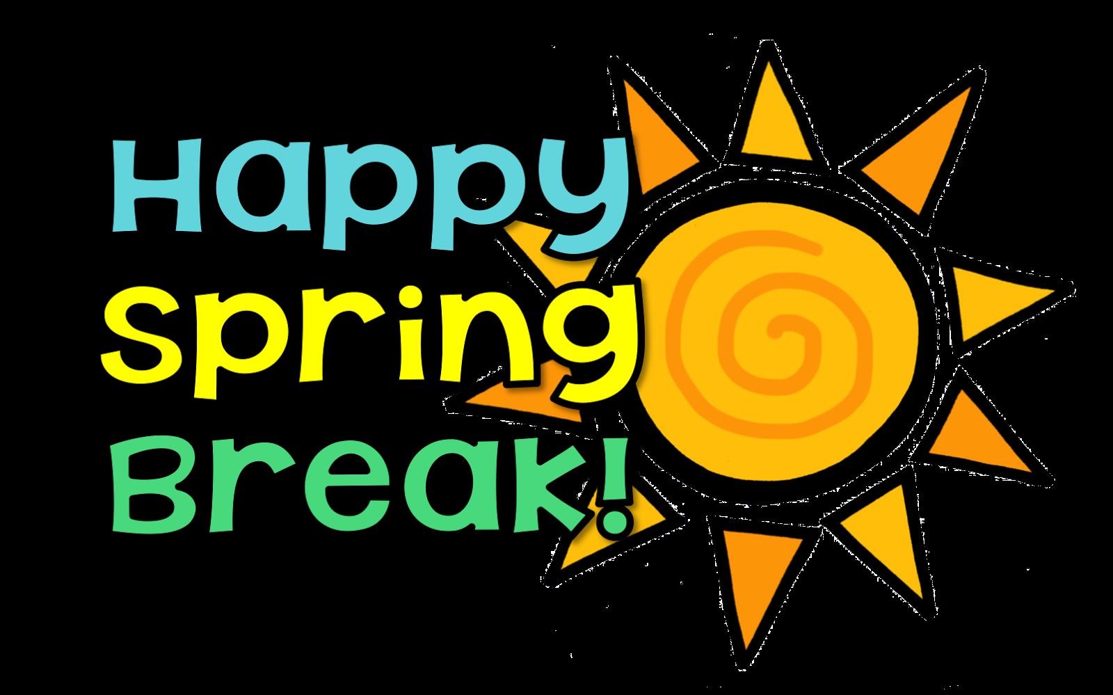 jpg royalty free download Happy spring memorial middle. Break clipart school break time
