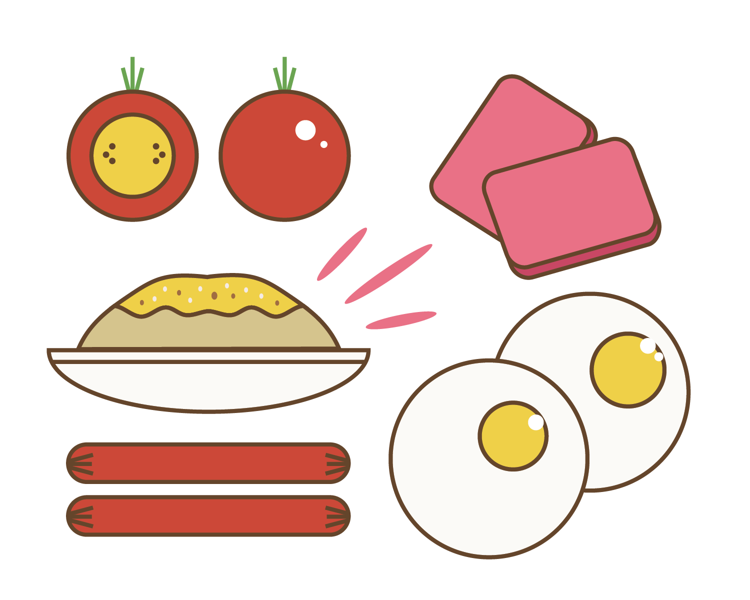graphic library download Pinoy breakfast from around. Brunch clipart meal time