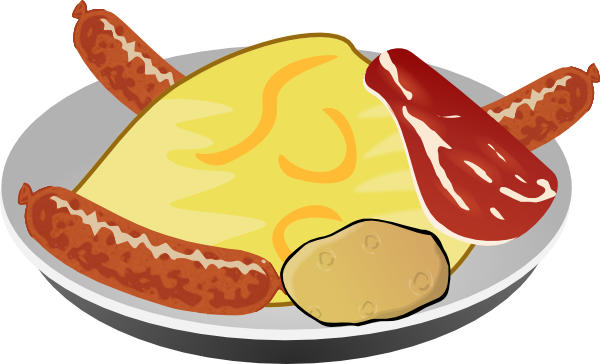 picture freeuse download Free download clip art. Breakfast clipart vintage