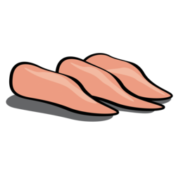 clip transparent download Breast clipart cartoon. Meat chicken free on