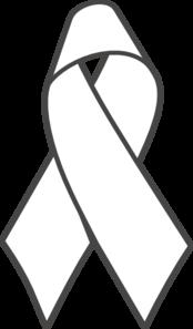 clip art freeuse Breast clipart cartoon. Cancer ribbon b w