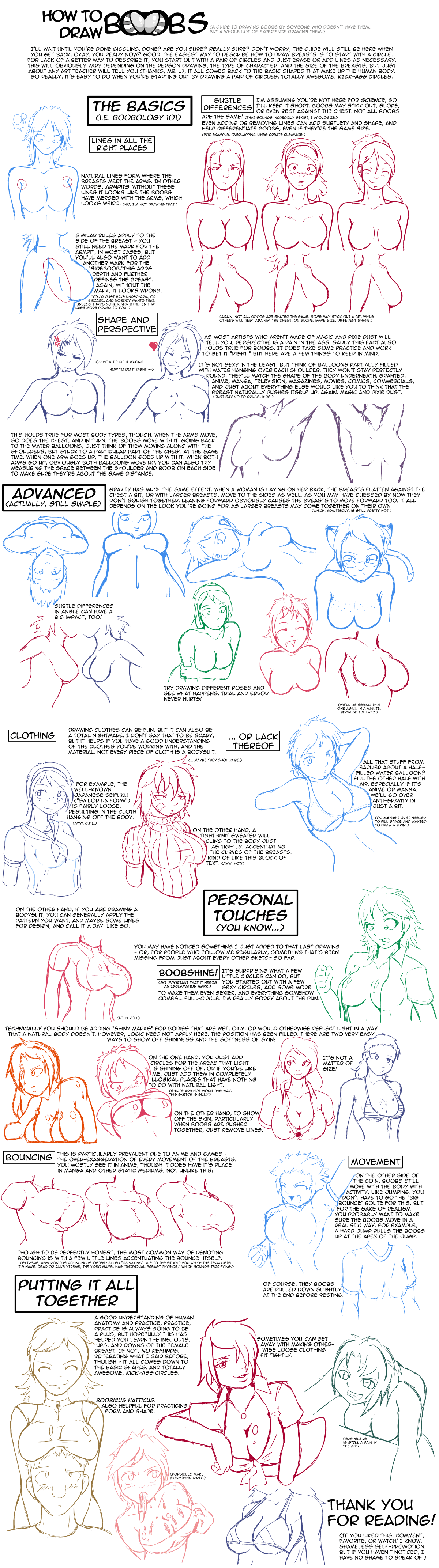 jpg free download Drawing breast tutorial. How to draw boobs.