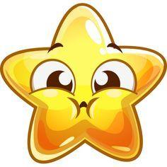 svg Star holds emoticons smileys. Breath clipart emoji.