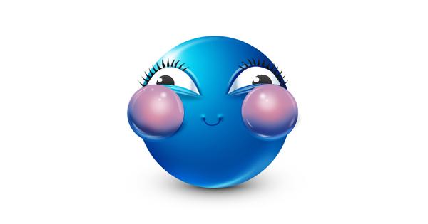 freeuse stock Holding its symbols emoticons. Breath clipart emoji.