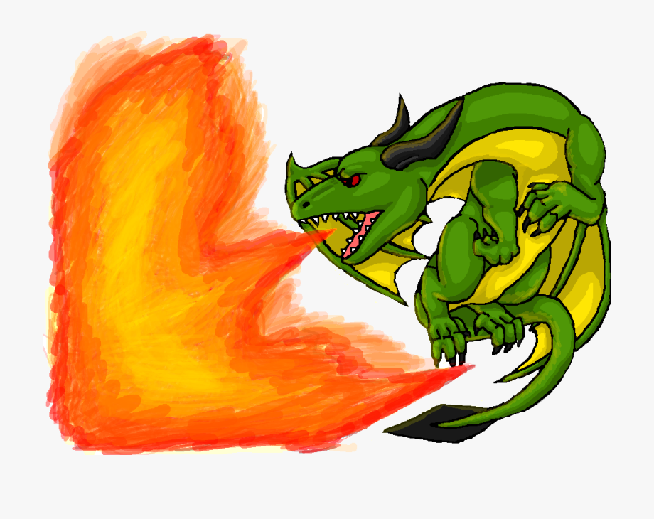 png free library Breathing dragon green clip. Breath clipart fire