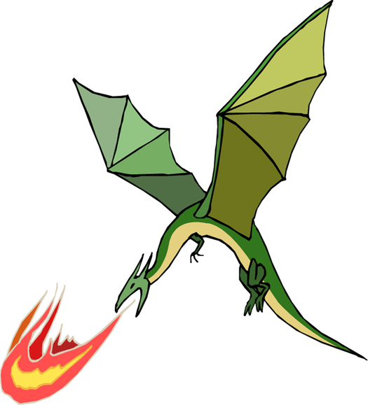image transparent library Do Dragons Exhale Fire
