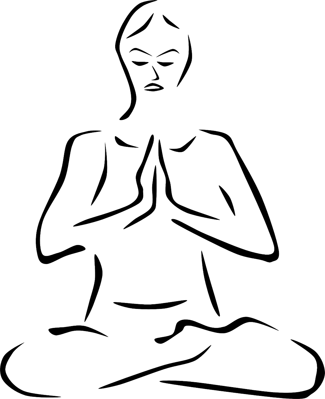 clip art library stock Meditation free on. Breath clipart muscle relaxation