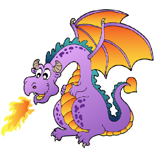 royalty free Dragon free funny dragons. Breathe clipart.