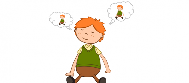 picture library stock Mindful . Breathe clipart child breathing.