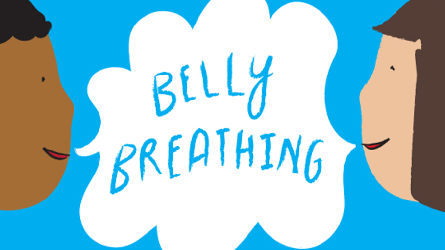 svg download Breathe clipart child breathing. Practice mindfulness with belly.