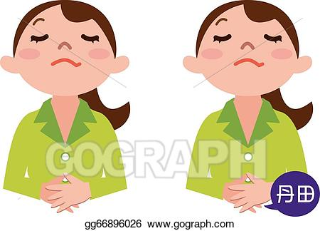 graphic black and white stock Vector breathing illustration . Breathe clipart deep breath