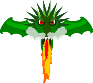 clip library library Fire dragon clip art. Breathing clipart