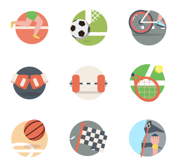 picture royalty free Exercise png transparent images. Vector color football