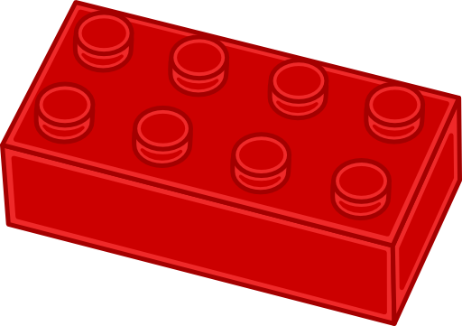 png stock Brick clipart. Red lego royalty panda