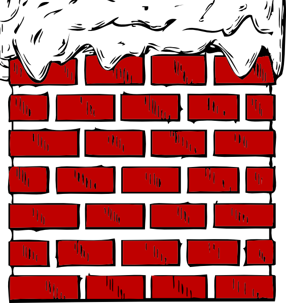 banner library download Brick clipart brick chimney. With snow clip art