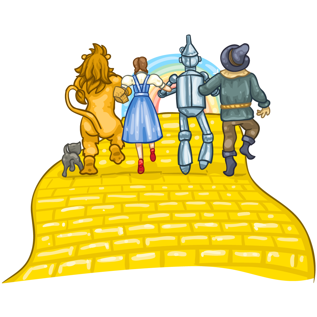 banner royalty free stock Brick clipart brick pathway. Yellow road free on.