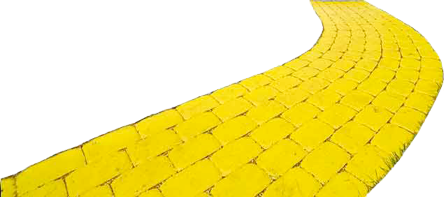 picture royalty free library Brick clipart brick pathway. Inspirational yellow road wizard.