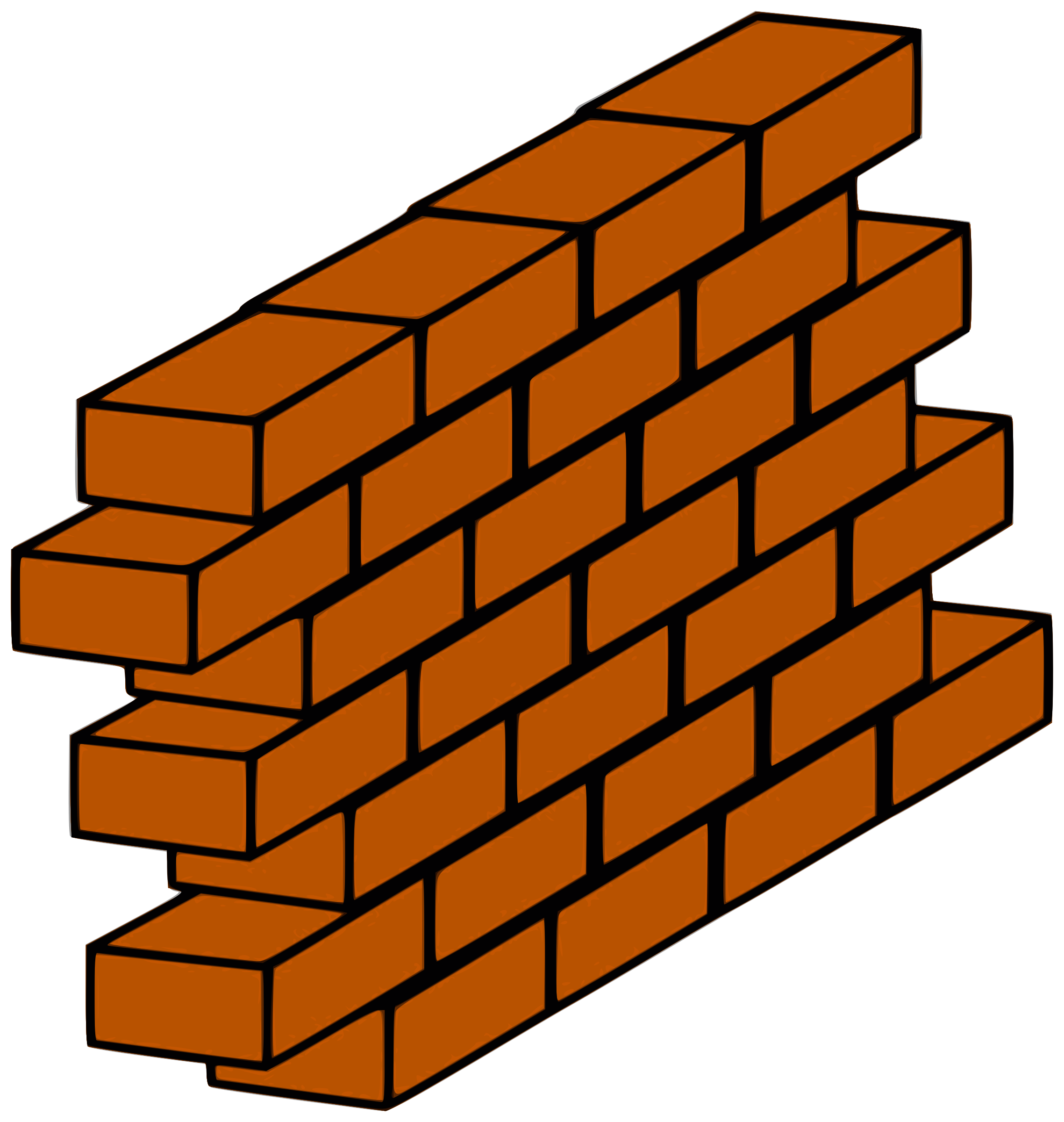 graphic stock Red wall big image. Brick clipart