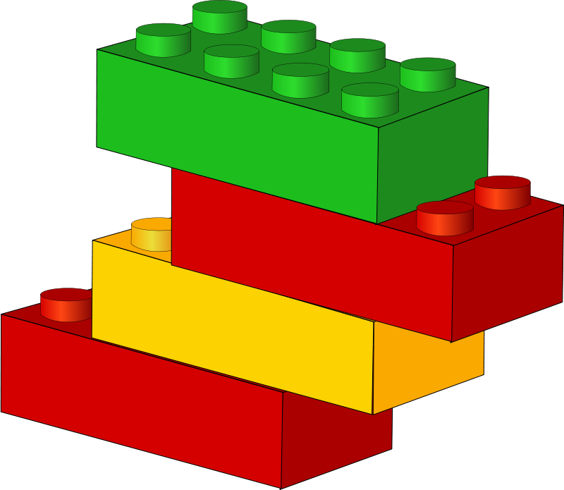 clip free library Cliparthot of block toy. Brick foundation clipart.