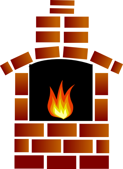 graphic royalty free library Brick Oven Clip Art at Clker