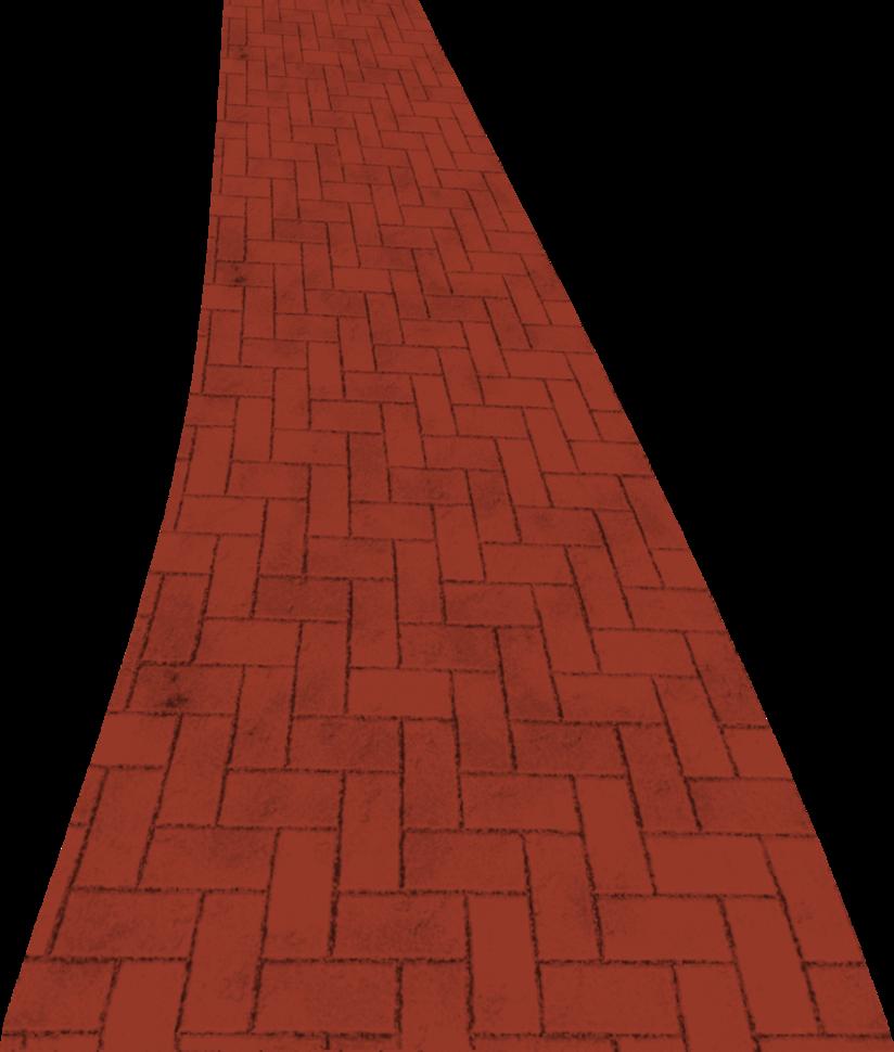 clip stock Brick Road Clipart