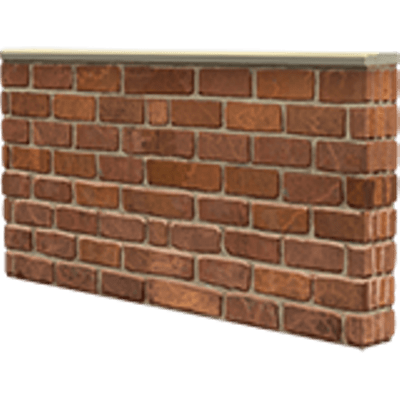 black and white download Clipart brick wall. Single transparent png stickpng