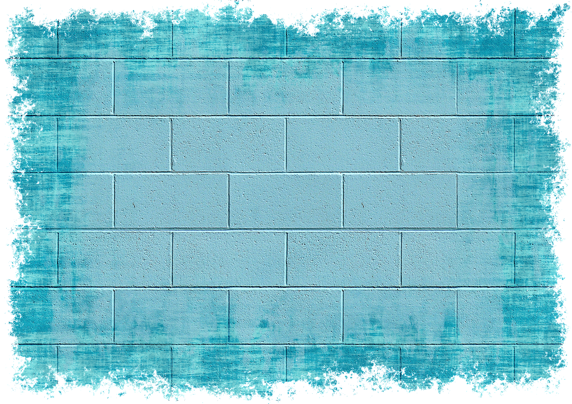 picture transparent library Brick wall background clipart. Painted blue bricks photo
