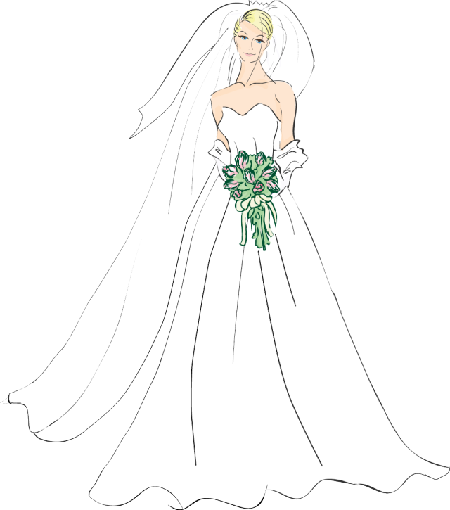 vector library download Png collection free bride. Bridal clipart