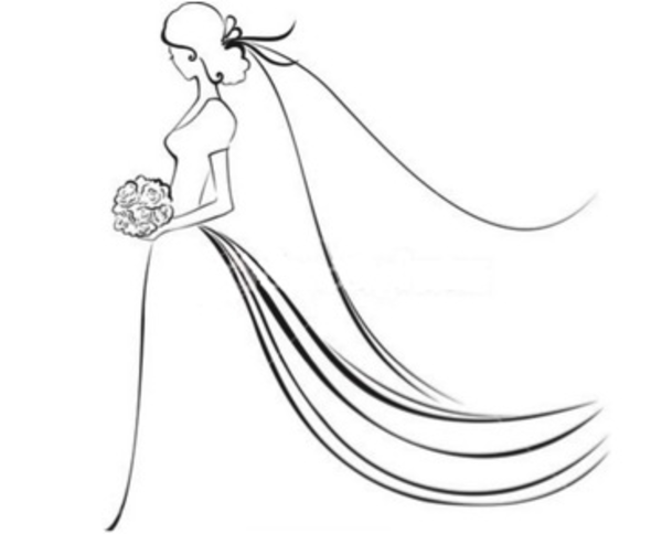 clipart free Bridal clipart. Pin on diy projects
