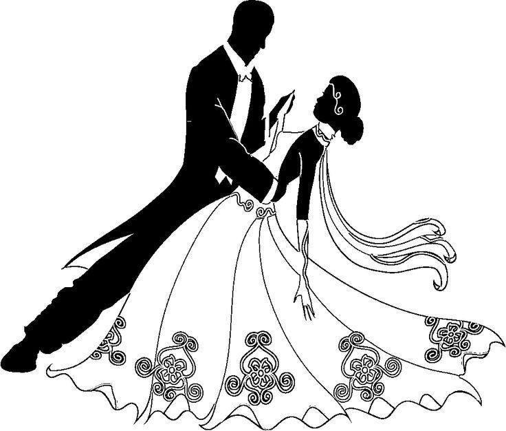 clip transparent stock Dancers clip art best. Bridal clipart ballroom dress