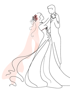 clip transparent download  pinterest wedding clip. Bridal clipart ballroom dress