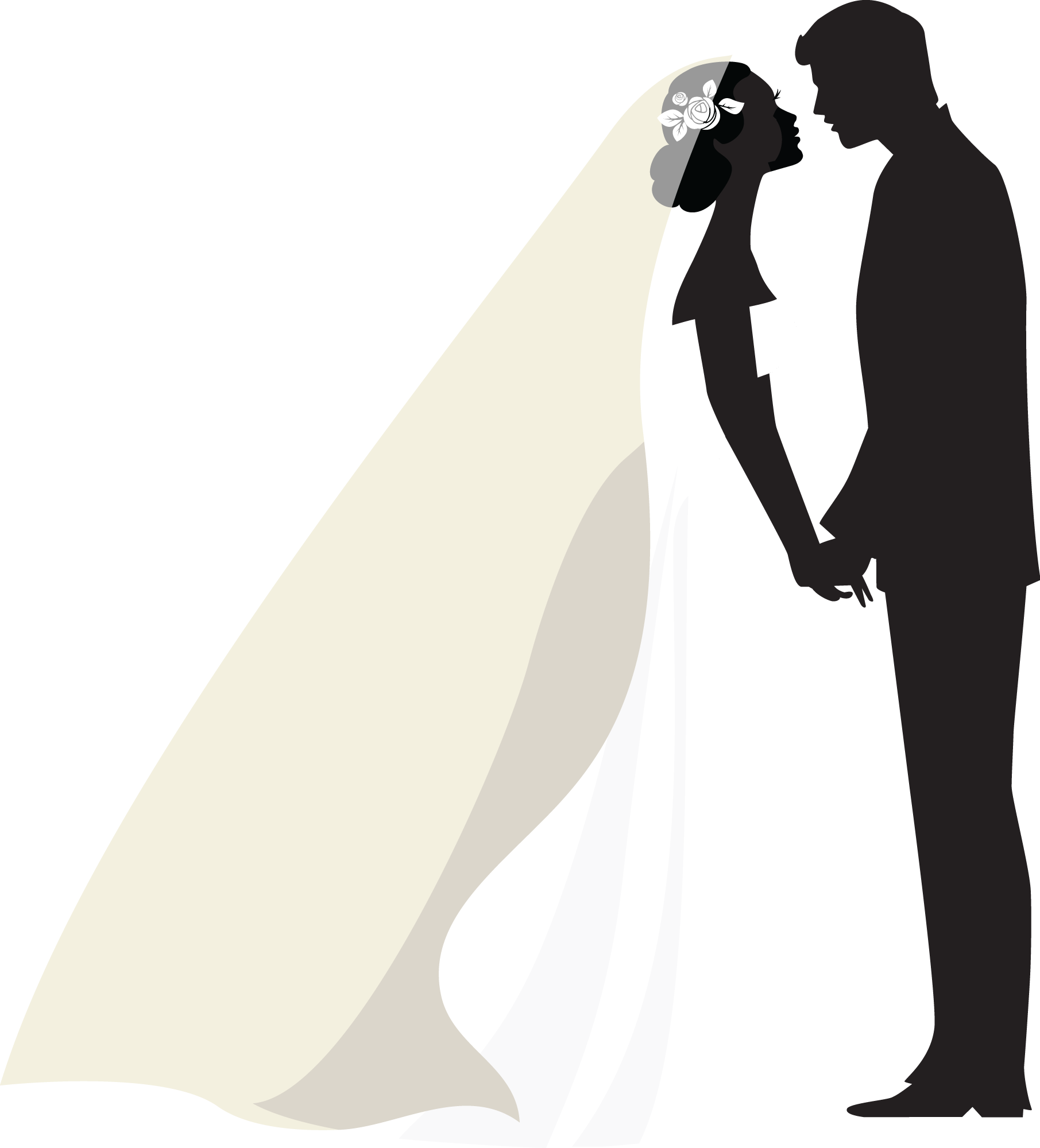 clipart transparent Dibujos digi stamps wedding. Bridal clipart ballroom dress