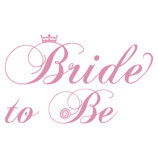 free stock Bridal clipart calligraphy. Bride hen night free
