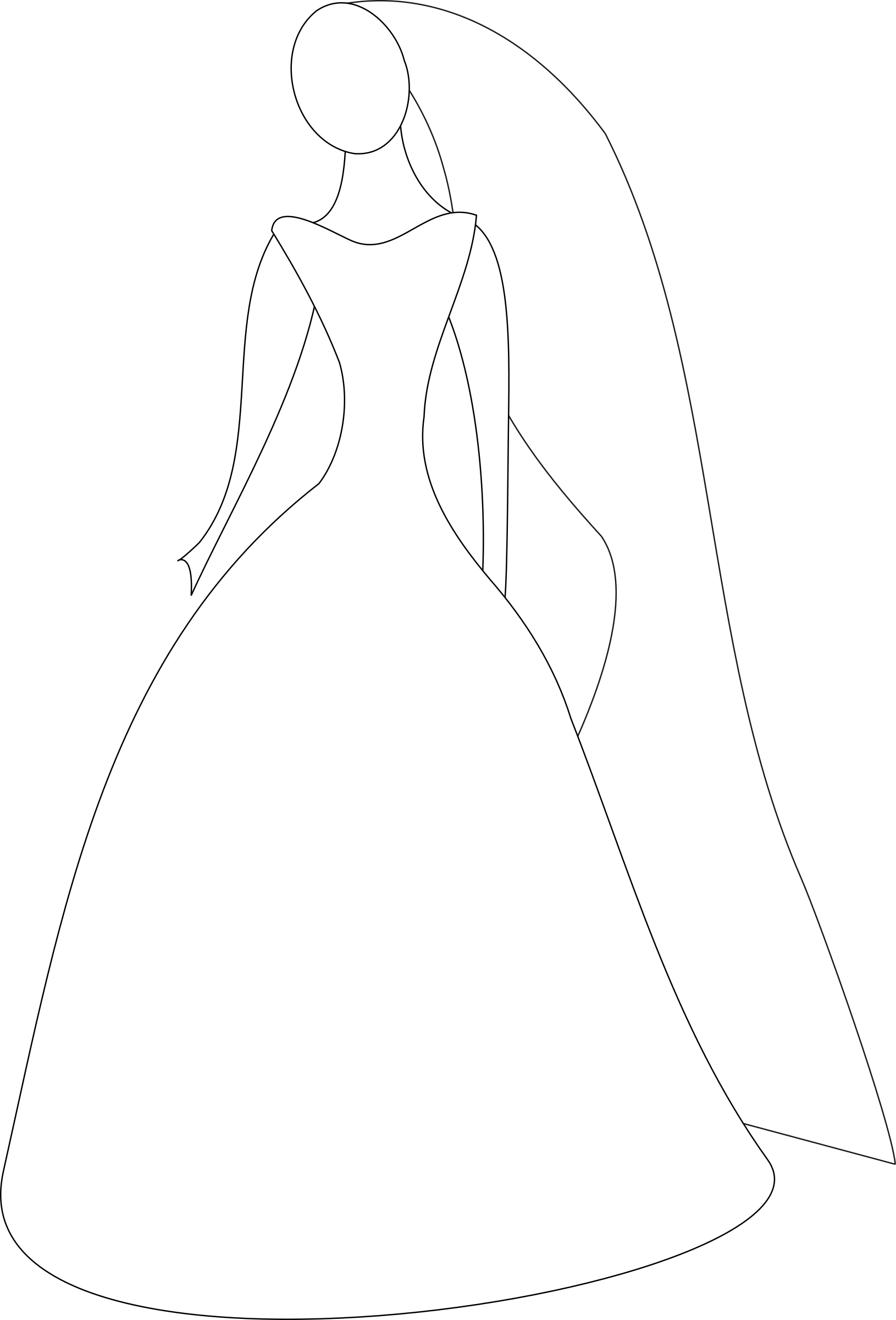 banner transparent library Bride girl free on. Gown clipart wedding dress