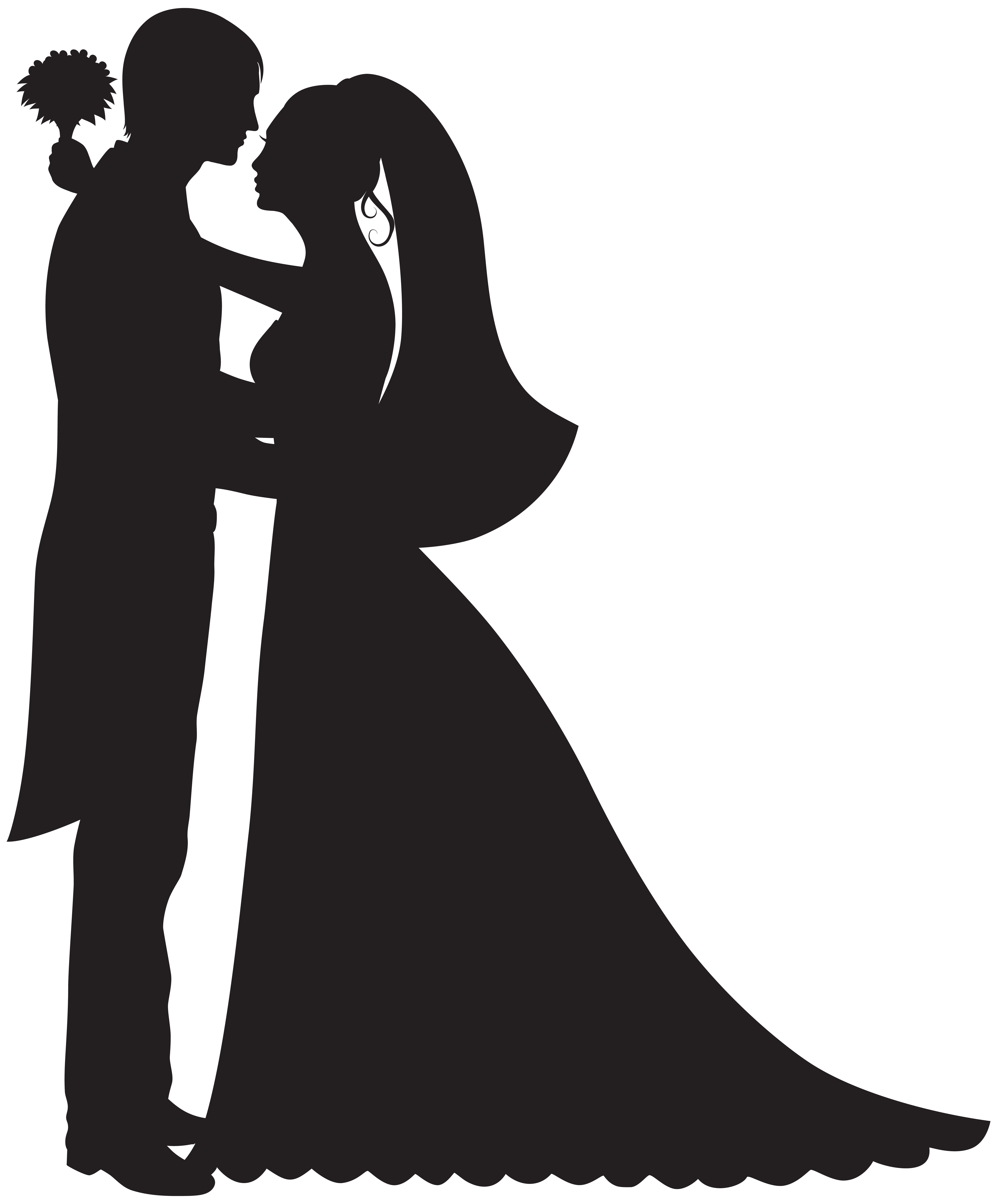 png freeuse library Groom and Bride PNG Clip Art