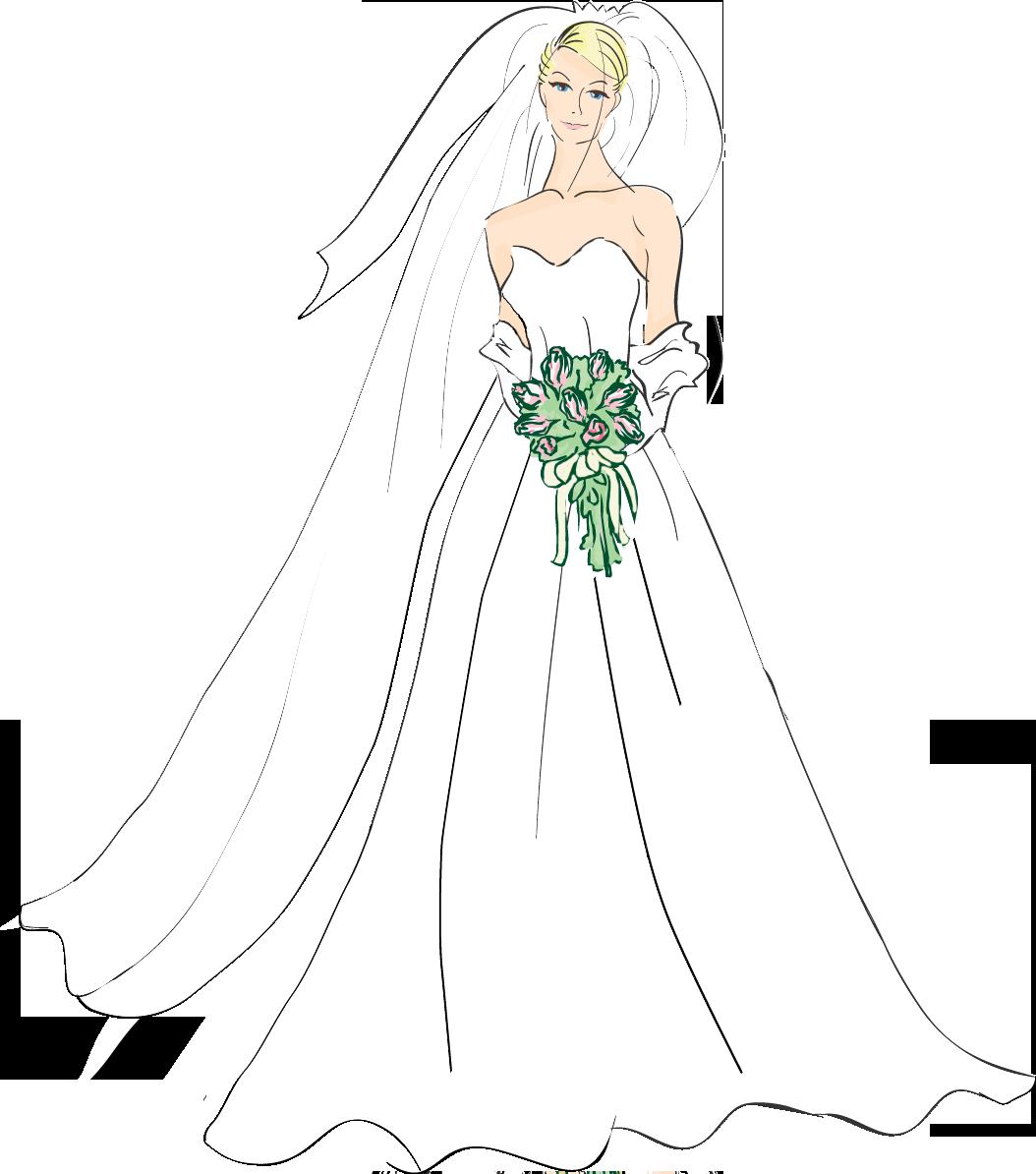 jpg free download bride clipart free #60058055