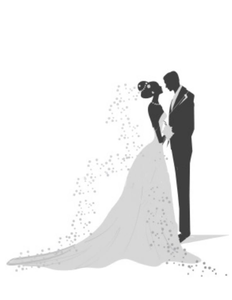 clipart freeuse Free rehearsal images at. Bridal clipart wedding dinner