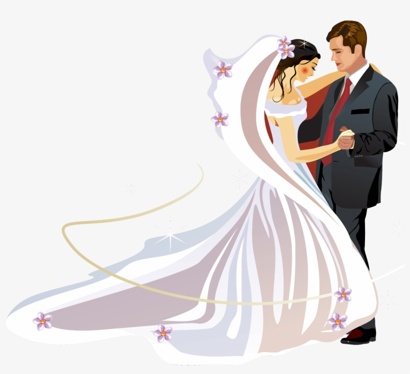 png free stock Clip freeuse download bride. Bridal clipart wedding dinner