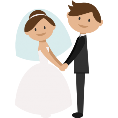 png royalty free library Transparent background free on. Groom clipart bride