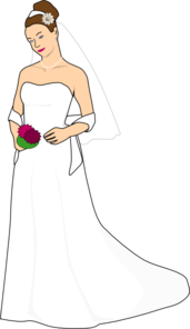 banner freeuse Clip art at clker. Bride clipart
