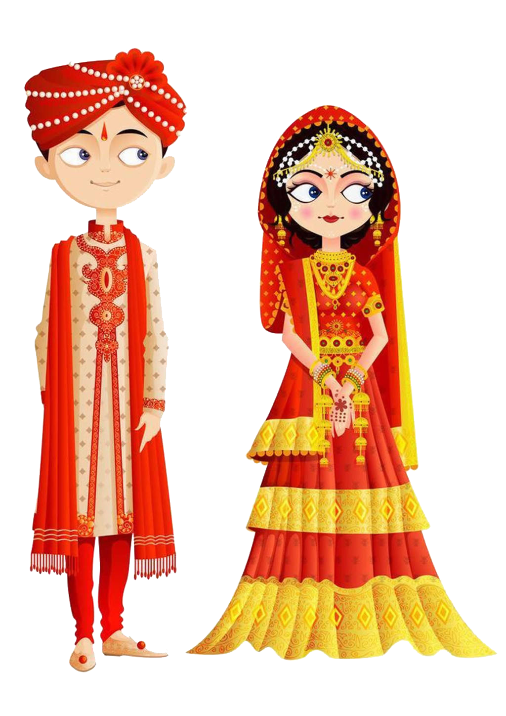 picture freeuse download Bride clipart wedding indian. India invitation clip art