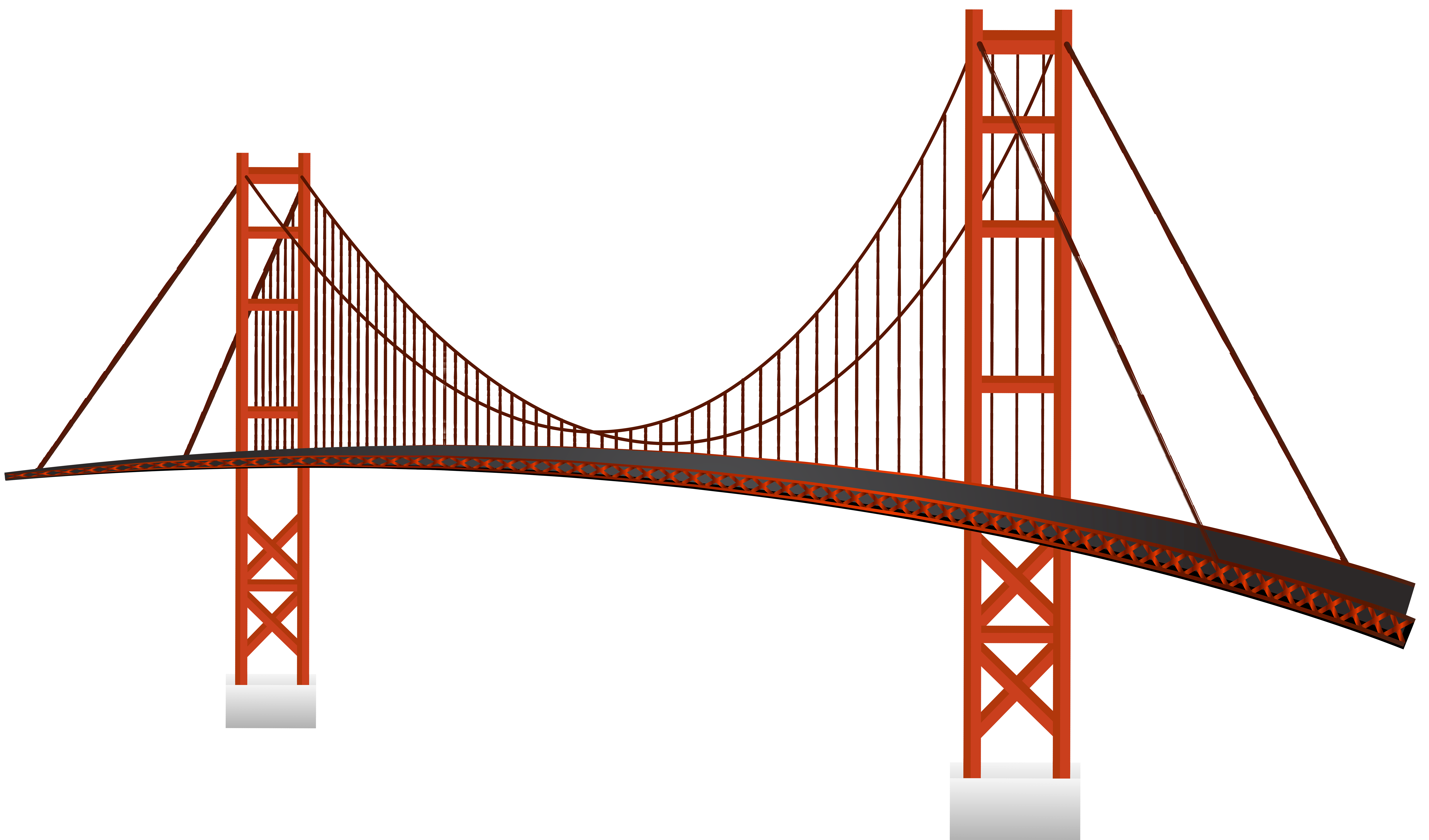 graphic royalty free library Golden gate png clip. Bridge clipart.