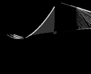 svg black and white Brooklyn only clip art. Bridge clipart bridge new york