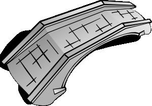 clipart download Bridge clipart line art. Stone clip at clker.