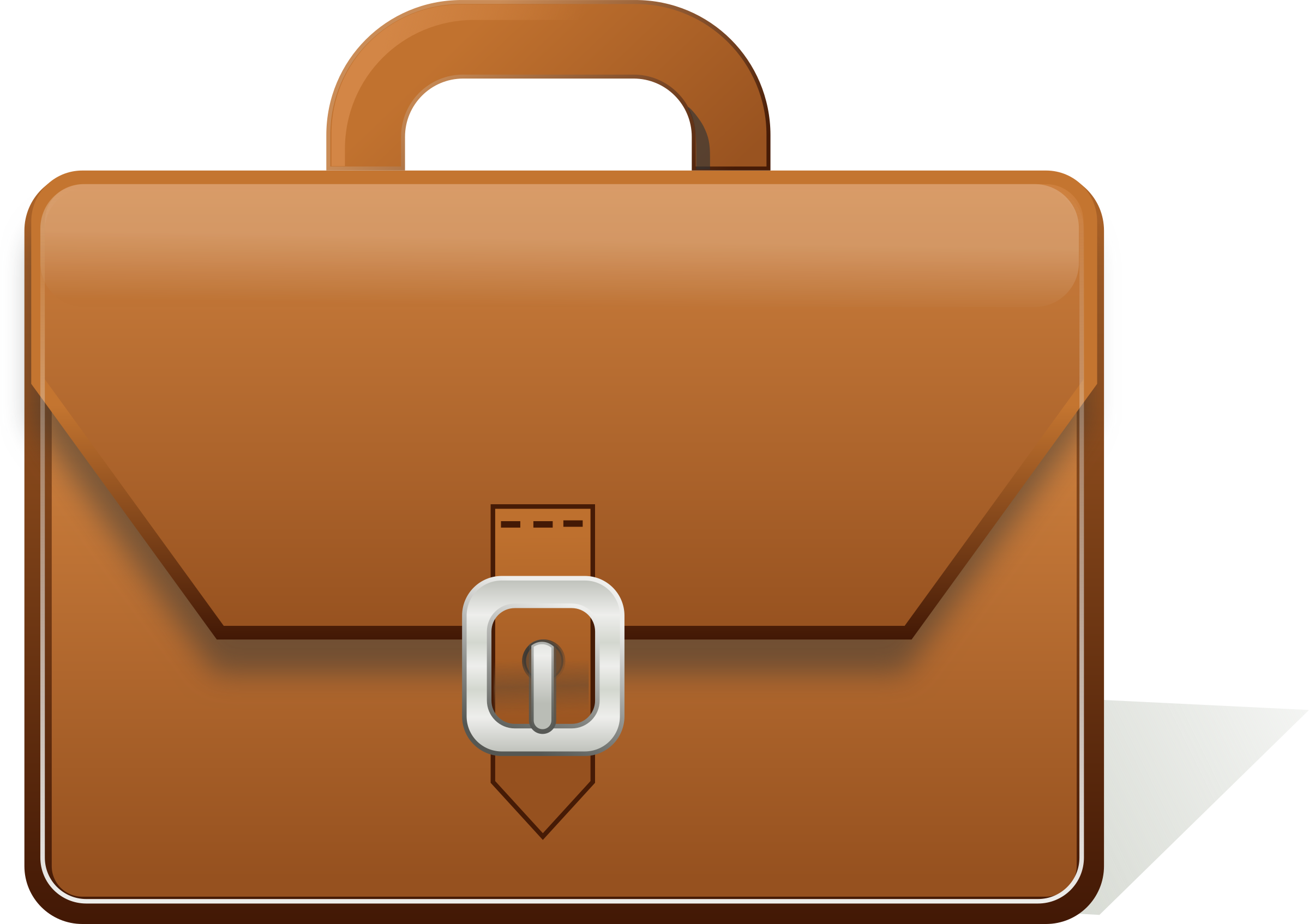 graphic free library Briefcase clipart.