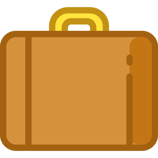 svg freeuse Briefcase Clipart