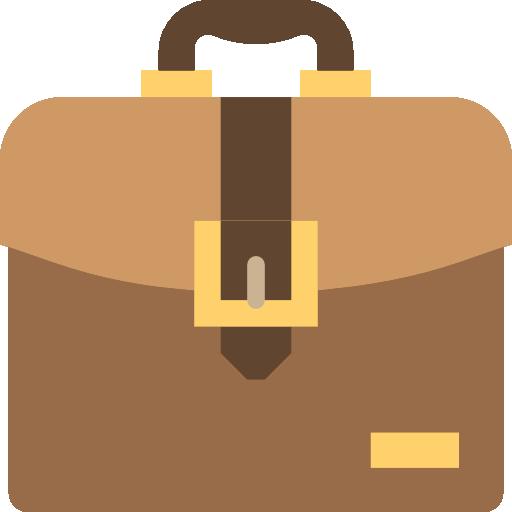 clip art black and white Briefcase