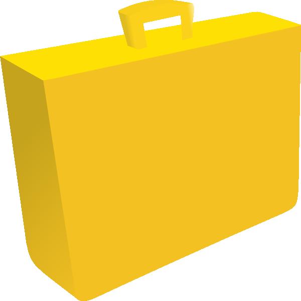vector library stock Orange Briefcase Clip Art at Clker